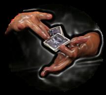 Gambling demonstration magic